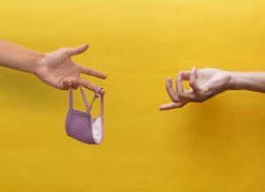 יד משיטה מסכה - אילוסטרציה
